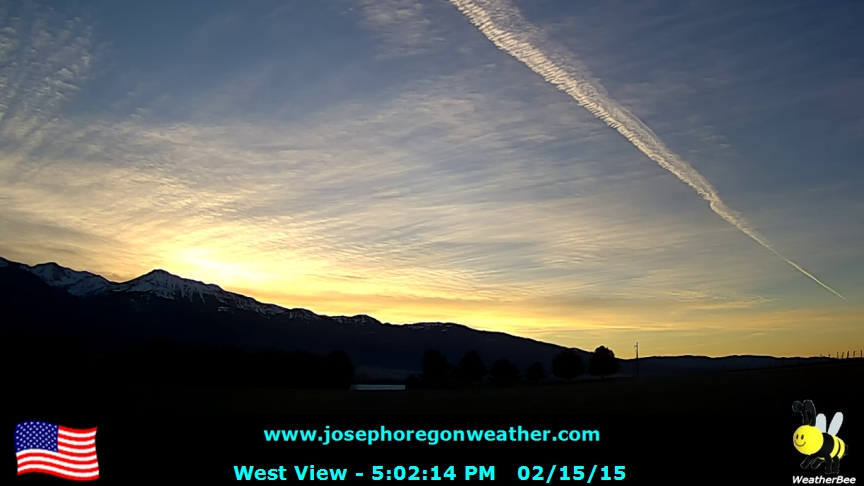 Evening February 15 2015 - Click for the full view.