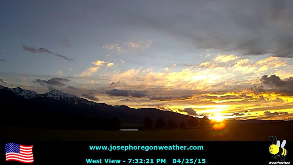 Sunset April 25 2015 - Click for the full view.