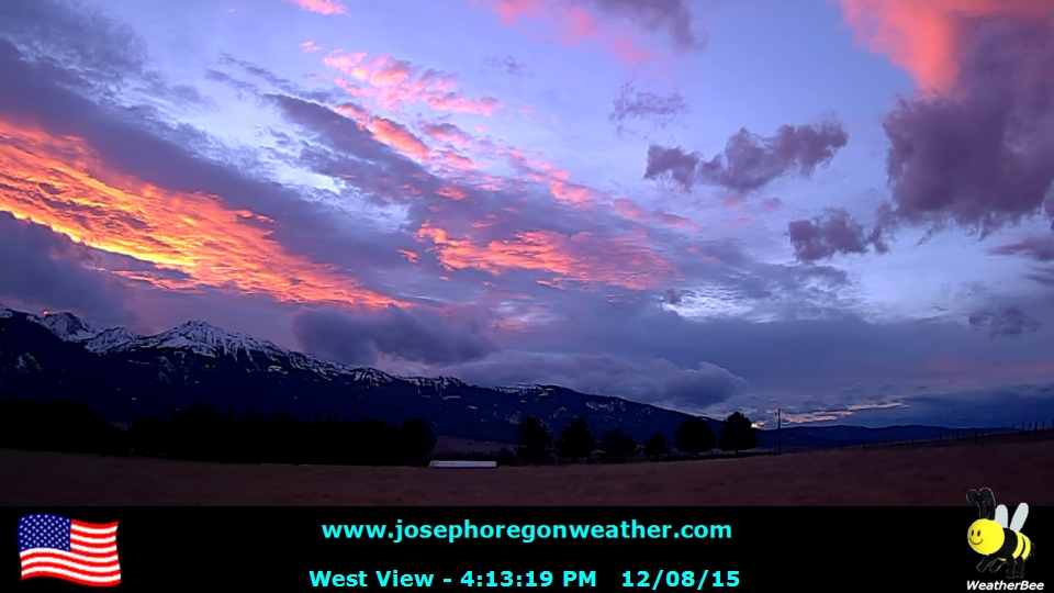 Sunset December 8 2015 - Click for the full view.