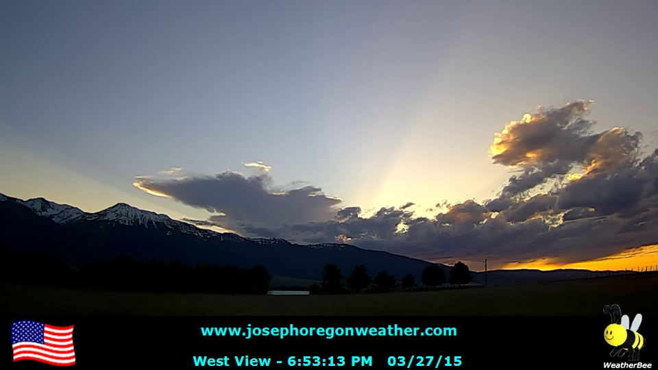 Sunset March 27 2015 - Click for the full view.
