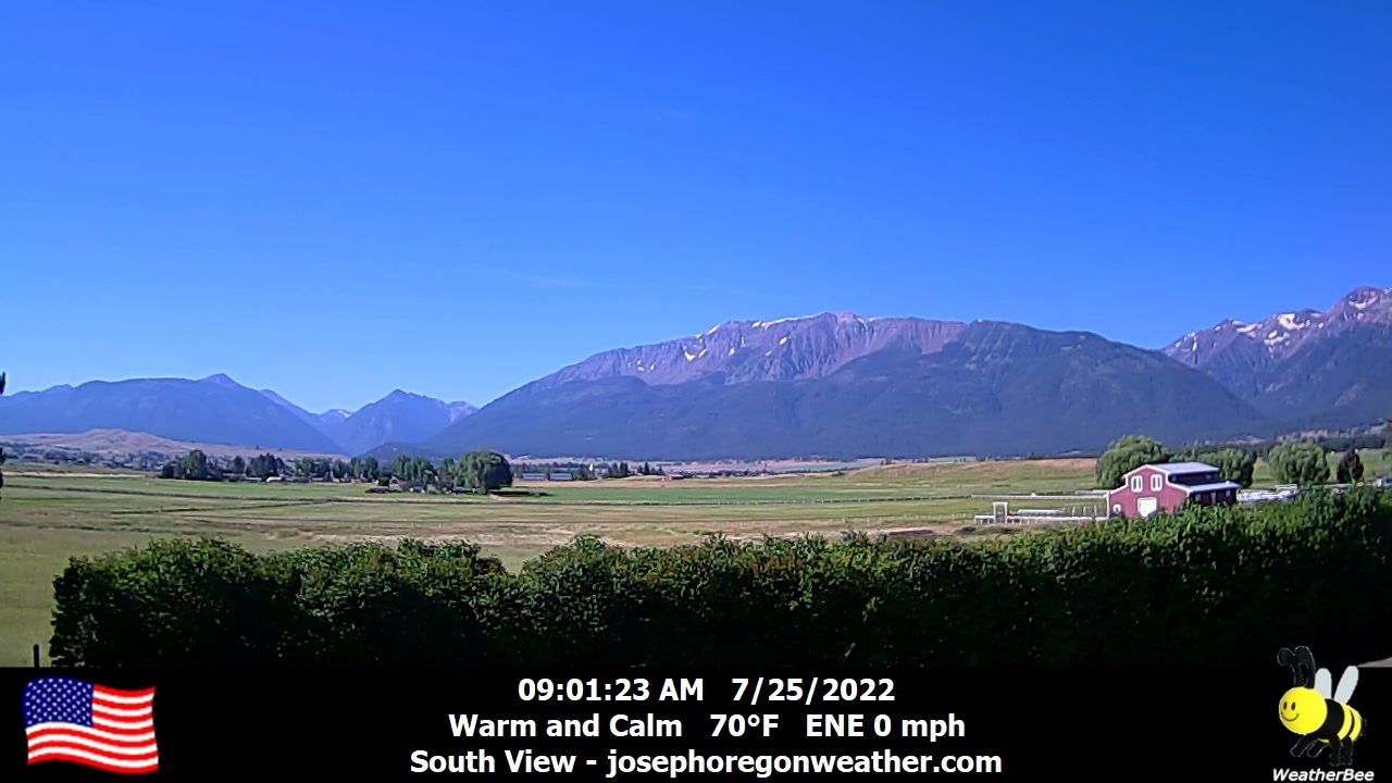 Joseph Weather Camera, South.