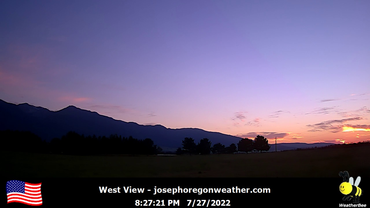Joseph Weather Camera, West.