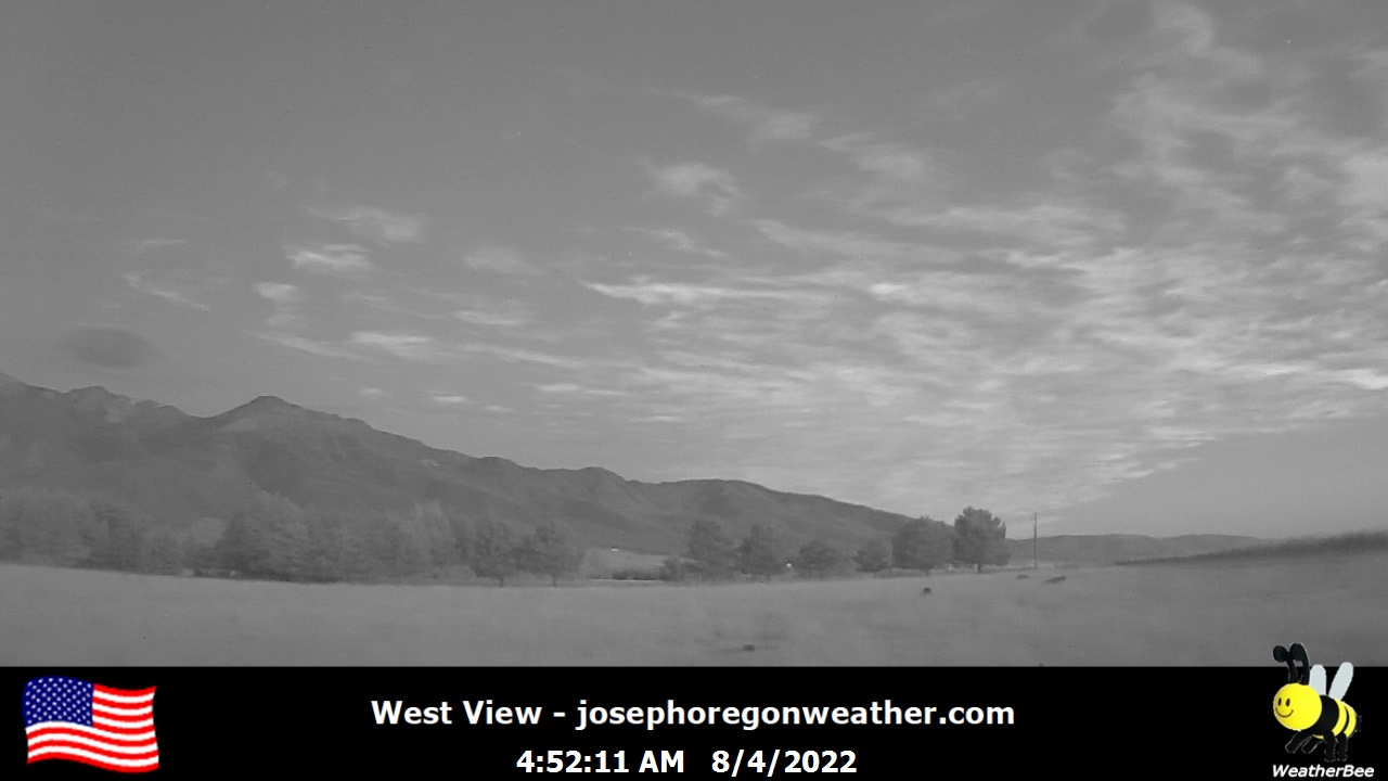 Joseph Weather Camera, West - Click For Joseph Weather Cameras.